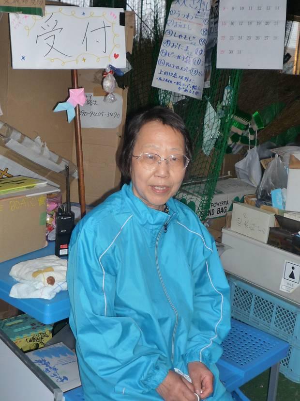 Volunteer, Ms Shibata Ayako