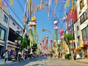 【石巻】 夏の風物詩 川開き祭
