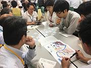 災害ボランティアセンター マッチング体験カードゲーム