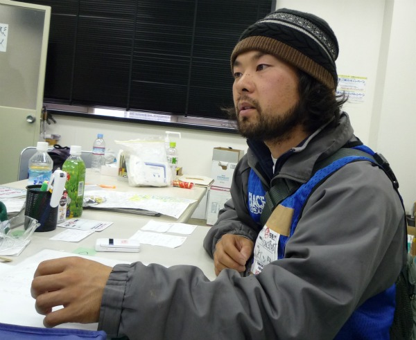 Peace Boat Volunteer Torii Kenta